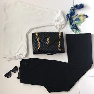 Black Dress Pants Stretchy Size 12 NWT
